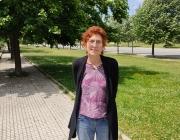 Rosa Guinot, presidenta de la Coordinadora pel Comerç Just i les Finances Ètiques i membre d