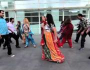 Fotograma d'un dels vídeos del projecte Raval Scan&Dance!