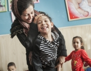Imatge de la organització sueca a l'Afganistan SCI