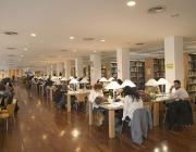 Biblioteca de la Facultat de Ciències de la Salut de la Universitat de Lleida. Font: Flickr. Autor: Servei de Biblioteca i Documentació