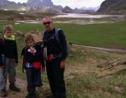 L'Eduard, l'Oriol i el Pau durant una de les etapes de #206kmxSETEM
