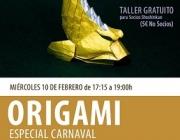 """Origami familiar especial """"Enterrament de la sardina"""""""