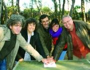 El Gepec signant un acord de custòdia a l'Ajuntament de Canyadell (imatge: altafulla.cat)