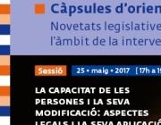 Cartell amb la informació de la sessió. Font: Taula del Tercer Sector