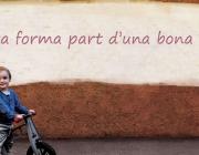 La bicicleta forma part d'una bona educació (foto BACC)
