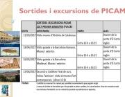 Sortides i excursions PICAM