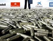 El BBVA és el banc que més comercia amb empreses armamentístiques. Font: No a la Banca Armada