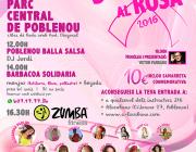 Cartell Suma't al Rosa. Font: Associació de ball Alocubano