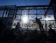 Manifestació contra la reobertura del CIE de Zona Franca. Font: elsegre.com