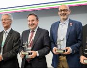 """Premi """"Talent in Mobility"""" a Manel Ferri, de l'entitat Promoció del Transport Públic (imatge: transportpublic.org)"""