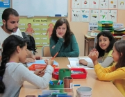 Taller CROMA a l'escola Serraperera (Cerdanyola del Vallès). Font: FAS
