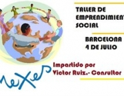 Cartell del taller d'emprenedoria social per a joves, a Nexes