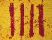 Imatge de 'L'esperit català', del pintor Antoni Tàpies. Font: Antoni Tàpies