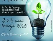 Cartell de la 16 edició de la Fira de Medi Ambient de Tàrrega (imatge: tarrega.cat)