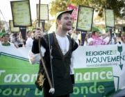 Mobilització per la Taxa Robin Hood (Oxfam a França)