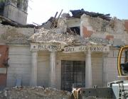 Terratrèmol a l'Aquila, a l'any 2009. Font: Wikipedia