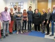 Foto de grup de persones que treballen al projecte