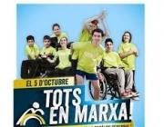 Imatge Tots en Marxa! Font: web Cursa en marxa per la paràlisi cerebral