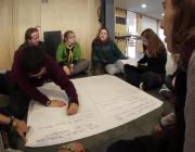 Fotograma del vídeo de la 1a Trobada del Moviment Associatiu Juvenil Antiracista