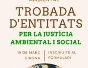 Trobada per la justicia socio ambiental a Girona (imatge:entitatsambientals.cat)