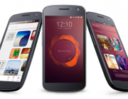 Imatge de la versió de Ubuntu per mòbil. Web Ubuntu.