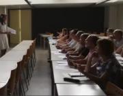 Una aula de la Universitat de Lleida (UdL)
