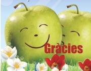 Una poma per la vida. Font: fem.es