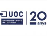 logo dels 20 anys de l'UOC