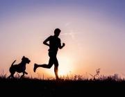 Imatge atleta i gos. Font: V Sport