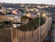 Una de les valles que separen els territoris espanyol i marroquí
