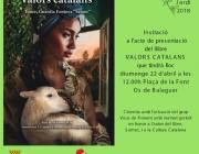 Presentació del llibre 'Valors catalans' en benefici d'AFANOC