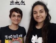 Imatge d'arxiu de la Yolanda Benavente i la Marta López. Font: Yolanda Benavente