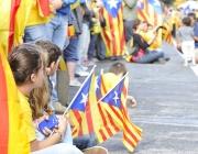Imatge de la via catalana del dia 11 de setembre de 2013