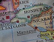 Mapa Amèrica Central. Font: Casa Amèrica Catalunya