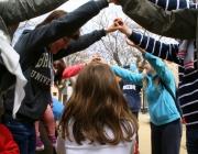 Activitat d'un agrupament escolta. Foto: MEG