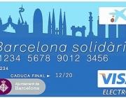 Imatge Targeta Barcelona Solidària