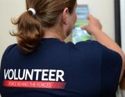 Samarreta d'una voluntària.