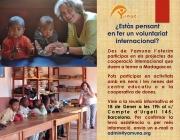 Reunió informativa sobre voluntariat internacional a Yamuna