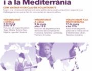 Cartell de l'esdeveniment. Font: Servei Civil Internacional de Catalunya