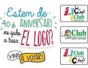 Difusió de la invitació a participar en la tria del logotip amb les tres opcions