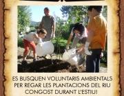 Es busquen voluntaris i voluntàries ambientals per l'estiu al riu Congost (imatges: Associació Habitats)