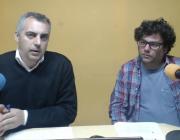 Víctor Garcia i Emilio Romero en el webinar sobre gestió del voluntariat