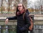 Montse Gómez, membre del Grup Esplai la Fàbrica de Can Tusell. Font: Montse Gómez