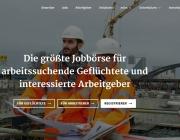 Pàgina de benvinguda de la plataforma Workeer. Font: Matthias Lüdecke