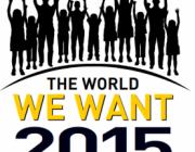 Logo de The World We Want