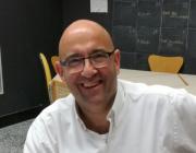 El Xavi Artal, activista cultural a l'Ateneu i en altres accions que es desenvolupen a Nou Barris