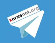 Logo de Telegram amb Xarxanet