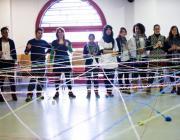 Alguns dels joves participants al projecte. Foto: Youthme