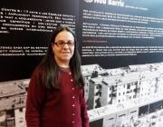 Aurora Àlvarez, forma part de l'Associació Bido de Nou Barris