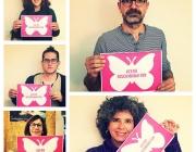 Persones participant a la campanya Zero Discriminació, feta també per aquesta plataforma